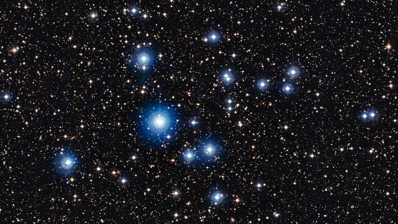 These stars are half as old as the dinosaurs