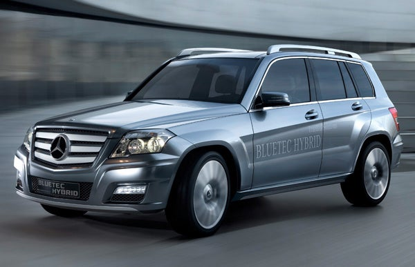 Mercedes GLK Hybrid Crossover Is A Double Compromise