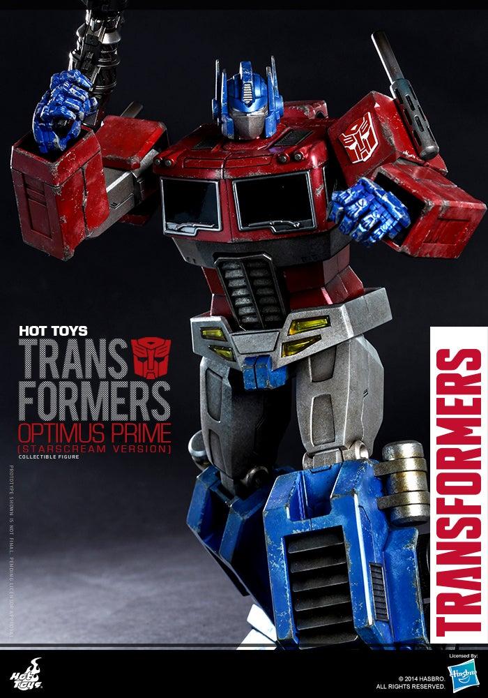 Fantastic Optimus Prime Figure Lights Our Darkest Hour
