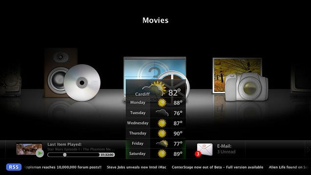 OS X Media Application CenterStage Merges With Plex