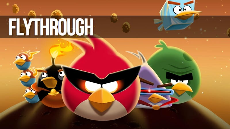 How To Three-Star The Hell Out of Angry Birds Space
