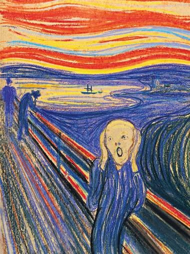 "Munch's ""The Scream"" expected to fetch $80 million at auction"