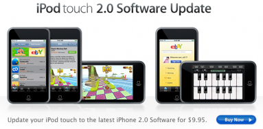 iPod Touch Firmware 2.0 Finally Out