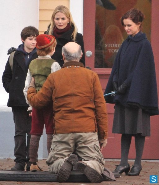Once Upon the Time Set Photos