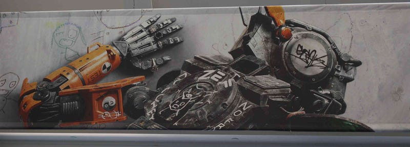 First Look At Neill Blomkamp's Robot Comedy Chappie