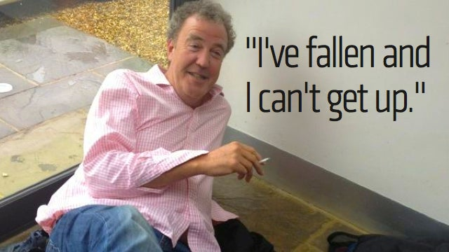 How Did Jeremy Clarkson End Up On The Floor?