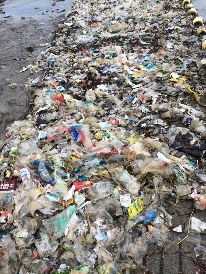 Hong Kong's Beaches Are Suddenly Covered in Trash and No One Knows Why
