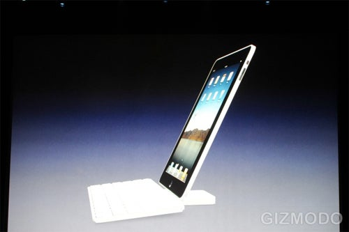 iPad Keyboard Dock, Because Even Apple Knows Touch Typing Can Hurt