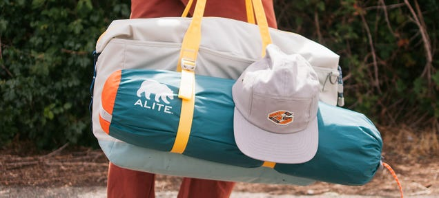 A Weekender Duffel Bag That Can Handle Your Sleeping Bag and Tent Too