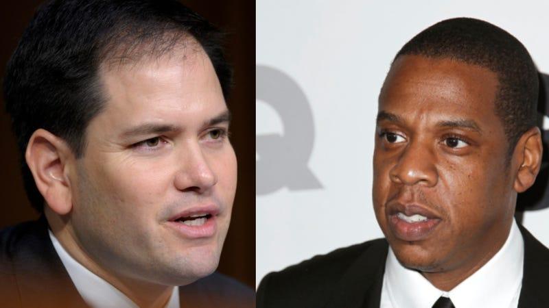Marco Rubio Betrays His BFF Jay-Z