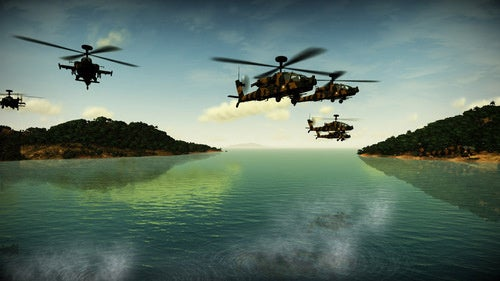 Images From A New Helicopter Combat Game