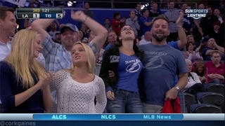 This Tampa Bay Lightning Fan Knows Exactly What He's Doing