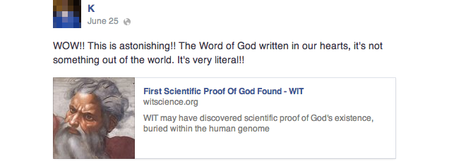 "Sorry, the ""First Scientific Proof Of God"" is Totally Fake"