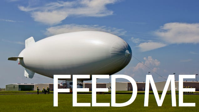 The Military's New Mega Spy-Blimp Struggling to Find Enough Helium