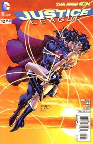 Superman and Wonder Woman smooch in this week's comic book haul