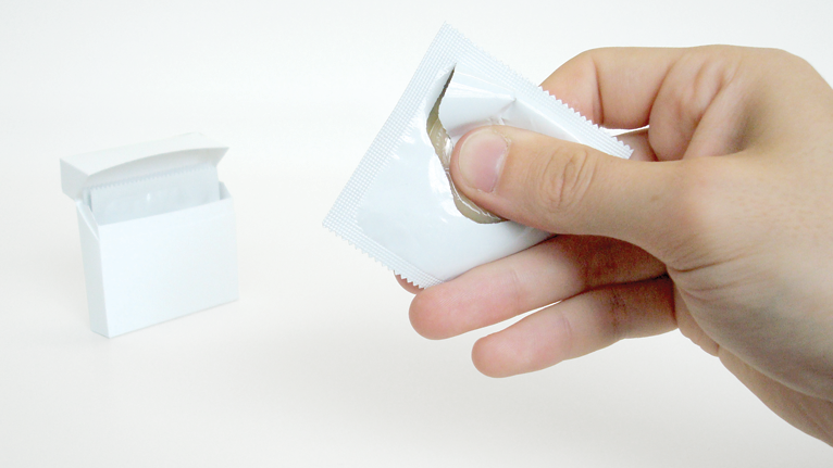 These One-Handed Condom Wrappers Need to Exist