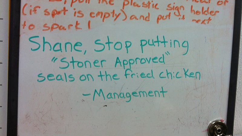 Here Are the Best Notes From Management You Will See Today