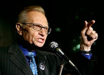 Larry King Stepping Down from Show, Possibly Due to 'Messy Personal Life'