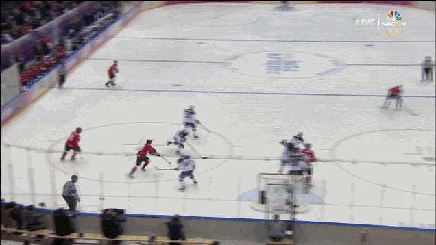 Canada Blows Out USA, 1-0