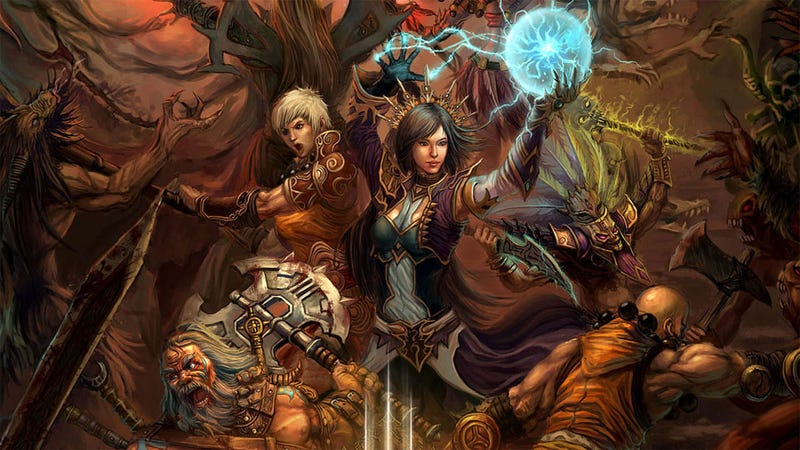 Diablo III Will Let You Play On Any Region's Server