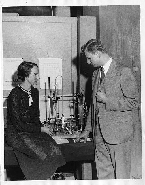 Historical Photographs of Scientists in Love