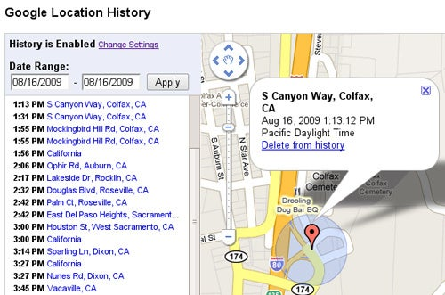 Google Latitude's History Dashboard Just Got A Bit Smarter and Creepier