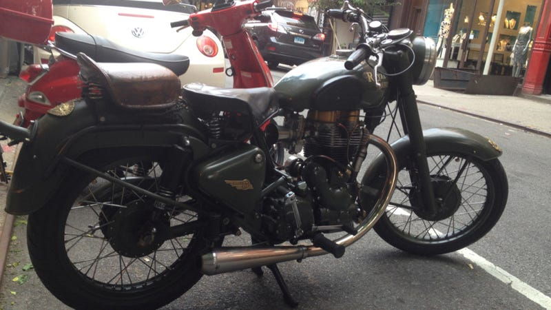 A Royal Enfield Is A Resplendent Work Of Art The World Over