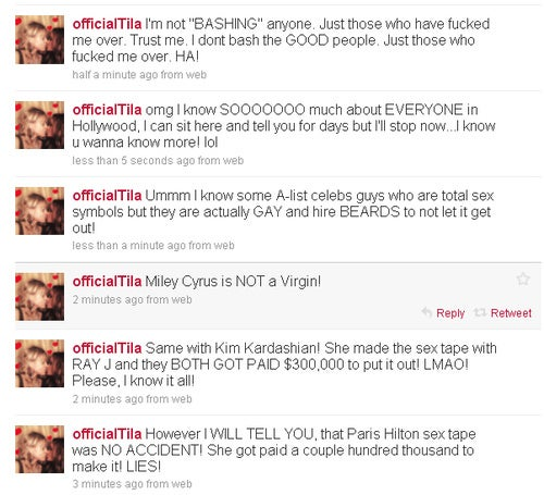 Tila Tequila's Perfect Digital Trainwrecks Merit New Slang: The Tweakout