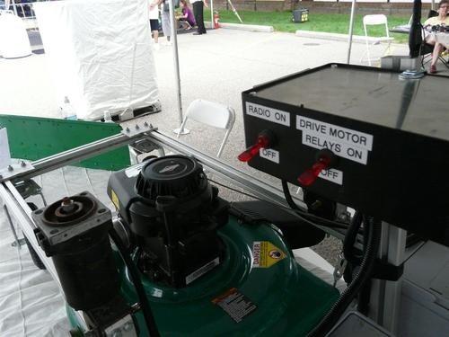 RC Lawnmower