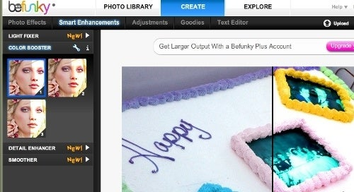 BeFunky Adds Image Fixing to Online Photo Art Tools