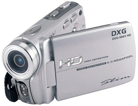 DXG-566V: A $150 High Def Camcorder?!