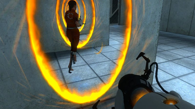 The One Man Left In The World Who Hasn't Heard Portal Spoilers Plays Portal, And It Is Glorious
