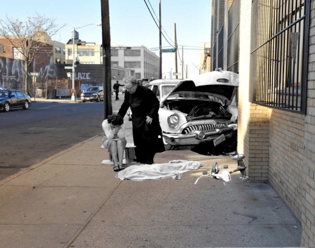 9 Photos of Grisly Vintage Crime Scenes on Today's NYC Streets