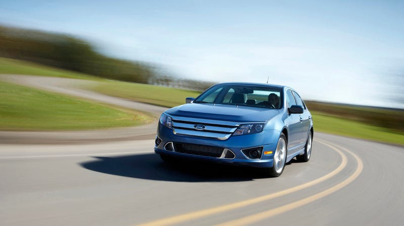 2010 Ford Fusion, Sport