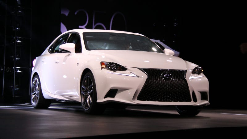 I Kissed A 2014 Lexus IS And I Liked It