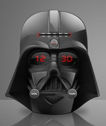 Darth Vader's Head Will Freak You Up Every Morning