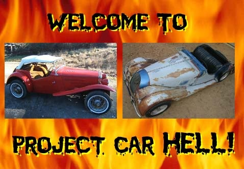 Project Car Hell, Angry Seller Edition: MG-TC or Morgan?