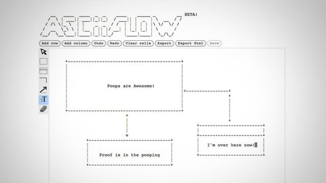ASCIIFlow Makes Flow Charts and Diagrams in Plain Text