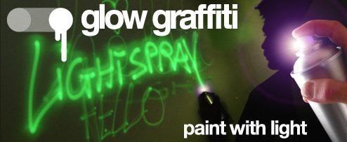 Glow In The Dark Graffiti Makes Street Art Rave-tastic