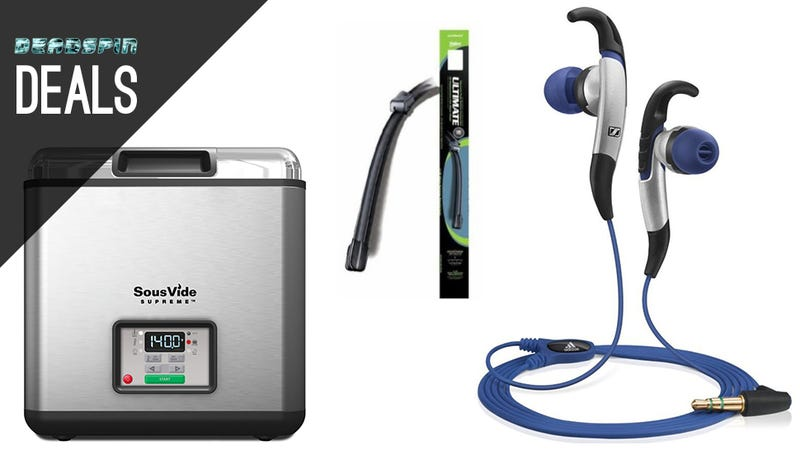 The Best Exercise Headphones, Your New Sous Vide, Auto Upkeep