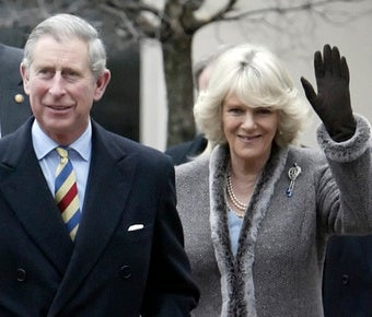 Prince Charles Plays It Coy on Queen Question