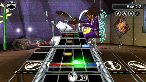 Rock Band Unplugged Hands-On