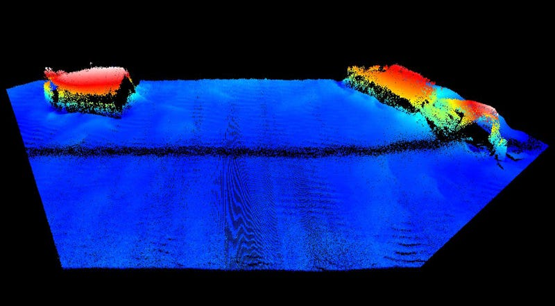 New Images Show Wreckage Of U.S. Ships Sunk During D-Day Preparations