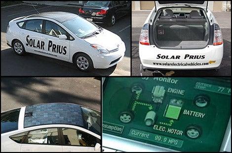 Make Your Hybrid a Hybrid-Hybrid with Solar Power