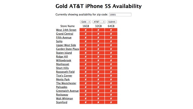 Here's How to Check If the Apple Store Has an iPhone 5S in Stock