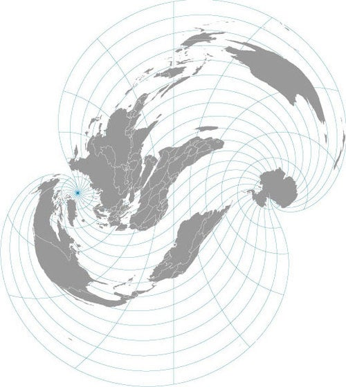 Weird Alternative Map Projections