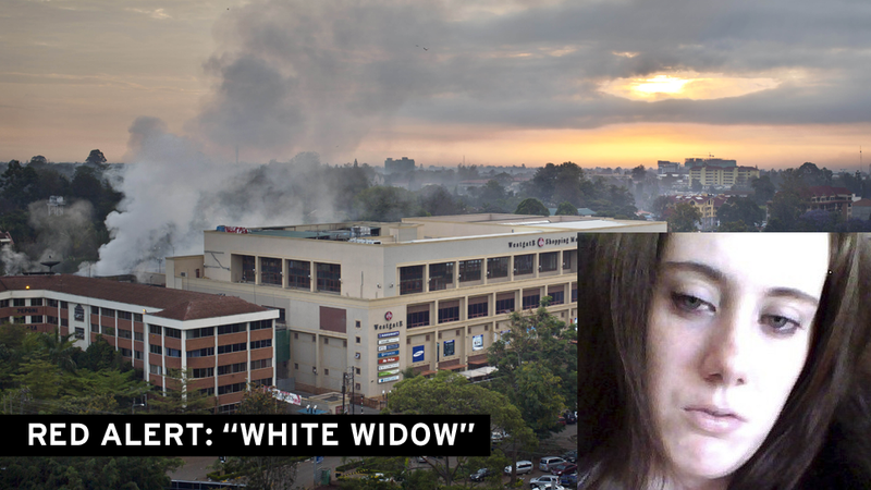 "Interpol Hunts for ""White Widow"": Was U.K. Woman in on Kenya Attack?"