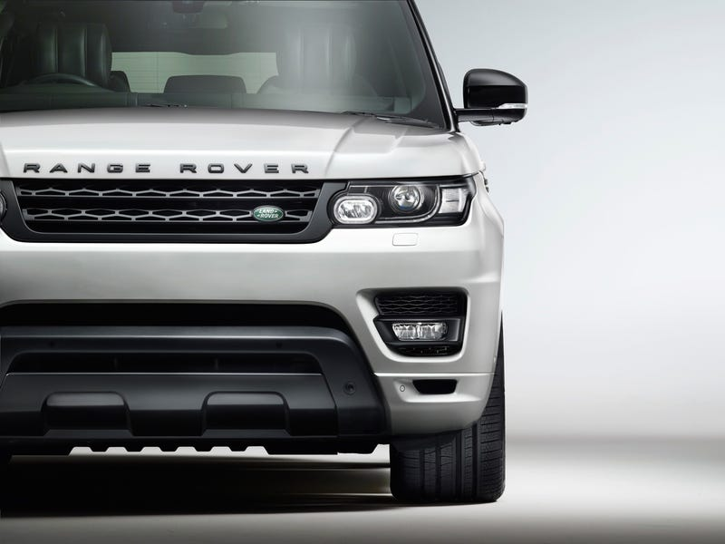 Awesome-Sounding Range Rover 'Stealth Pack' Just Some Stupid Vents