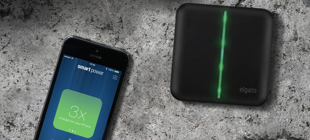 This Portable Charger Reminds You To Bring It Along on Busy Days