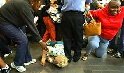 Question of the Day: Who Is Most to Blame For the Walmart Trampling Incident?
